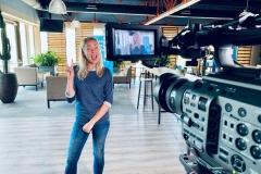 Actrice en voice-over voor een RTL-Z infomercial
