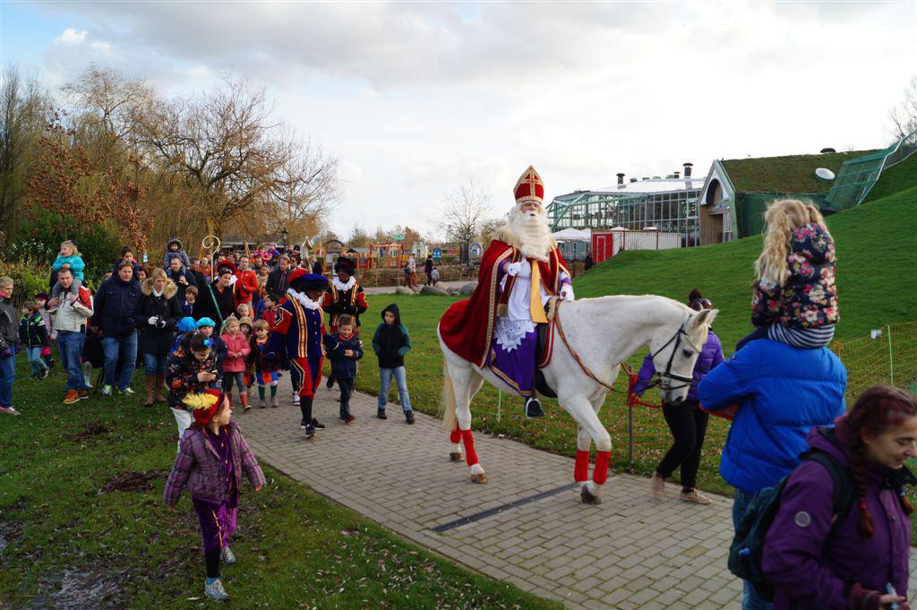 Sinterklaas op paard - Plaswijckpark - acteurs en actrices