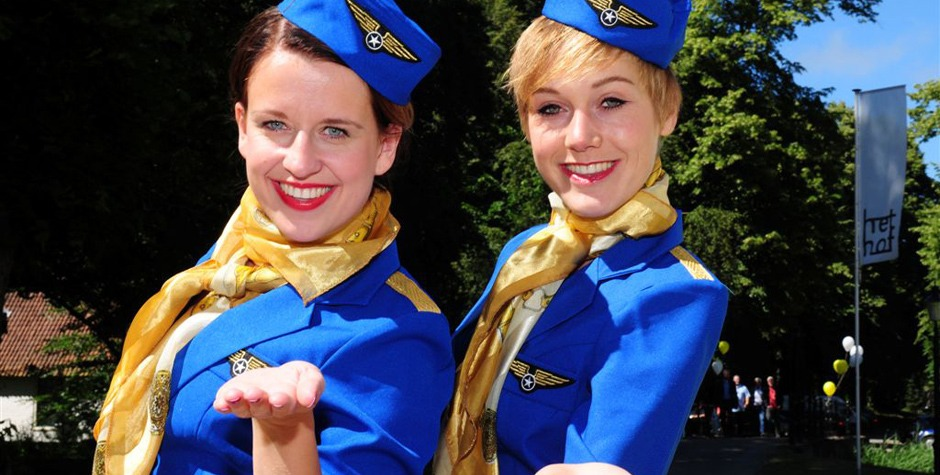 Hostesses - stewardesses