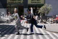 Politie boef acteurs - typetjes