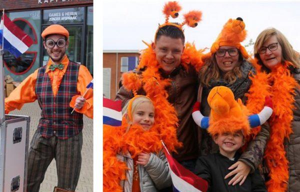 Oranje fotograaf - Koningsdag - Straattheater