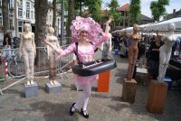 Winkelcentrum entertainment - Straattheater - Candygirls