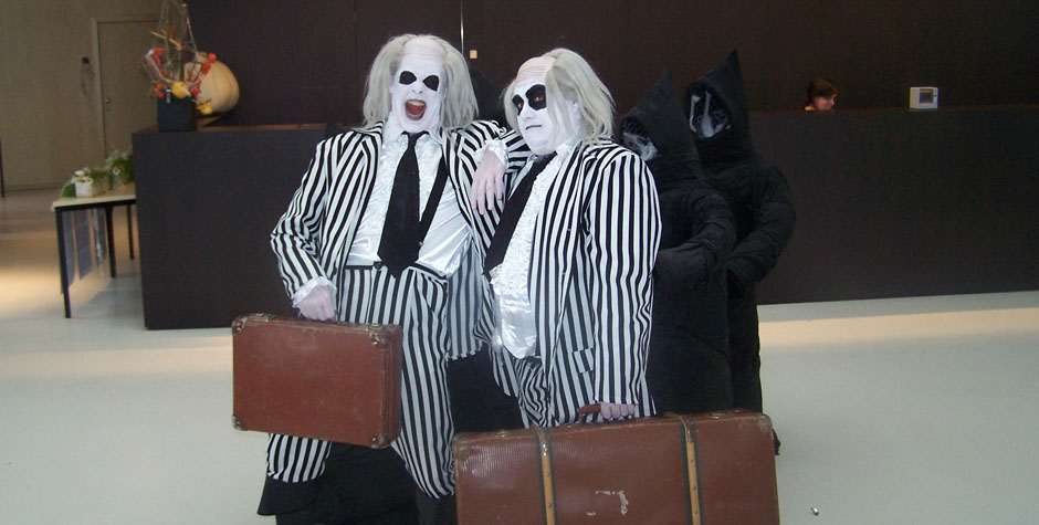 Halloween entertainment - typetjes, acts en theater