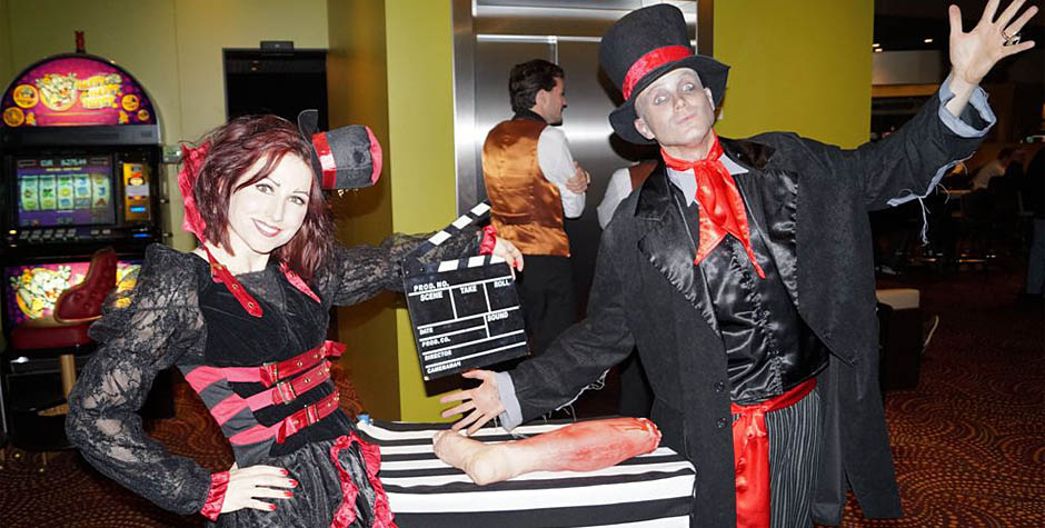 Halloween entertainment - typetjes, acts en theater