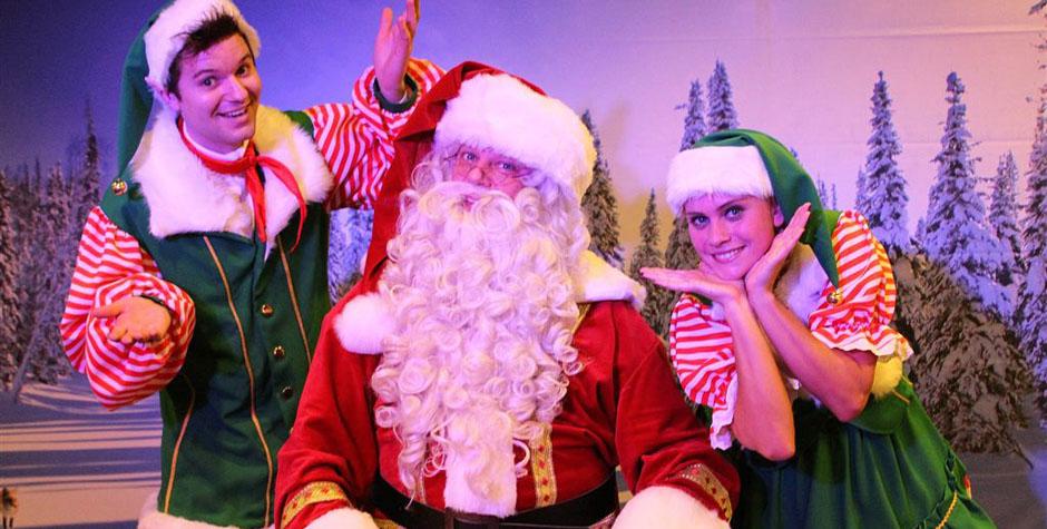 Kerst entertainment - kerstman en kerstelfjes