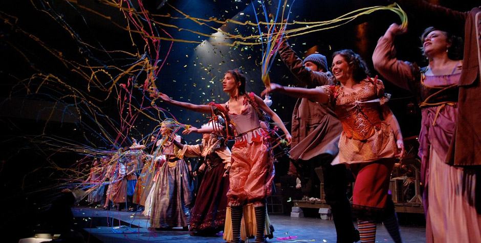 Musical voorstelling - theater voorstelling