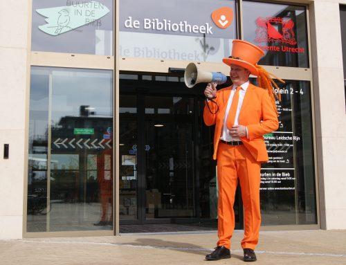 Aankondiging opening Bibliotheek Leidsche Rijn