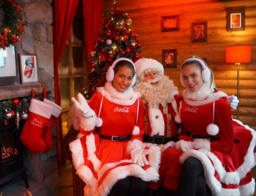 Kerstman Coca-cola Trucktour Kerstpromotie