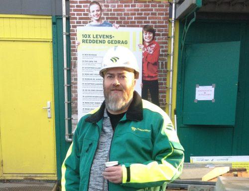 Camera acteur voor Kerstcommercial Dura Vermeer